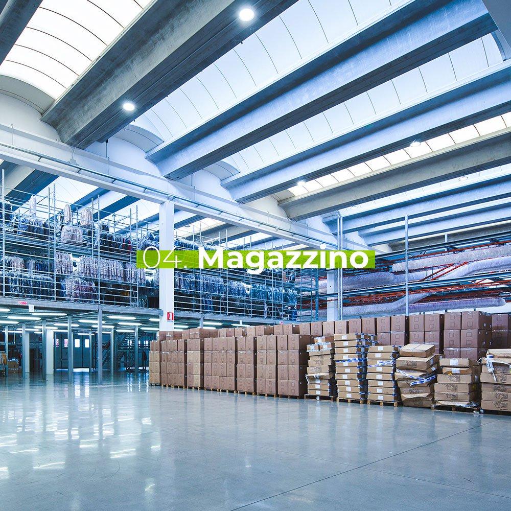 Magazzino - Stireria industriale Magic srl