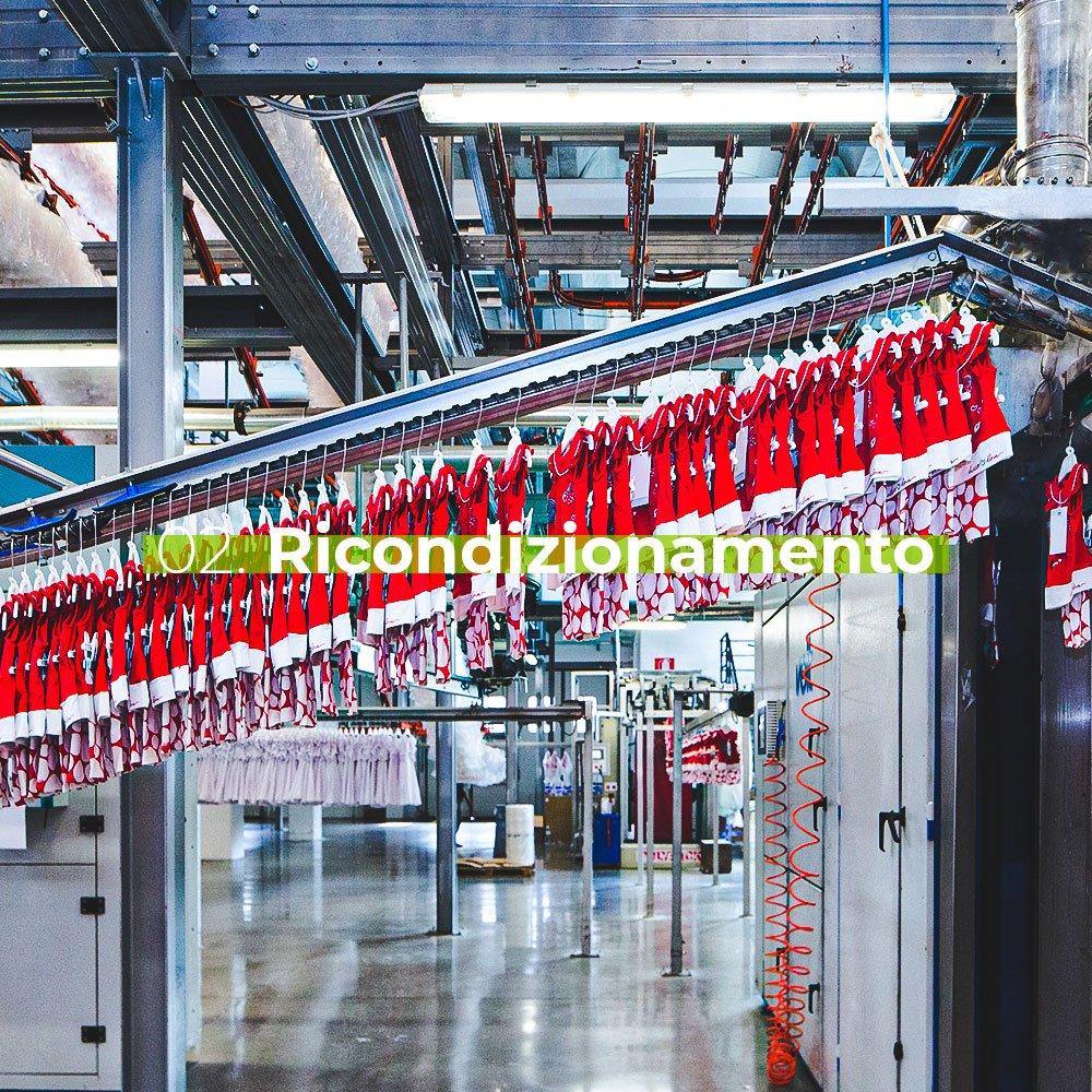 Ricondizionamento - Stireria industriale M.A.G.I.C. COMPANY S.R.L.